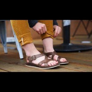 Chaco's Wayfarer Leather Sandal